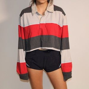 Urban Outfitters Vintage Cropped Long-Sleeve